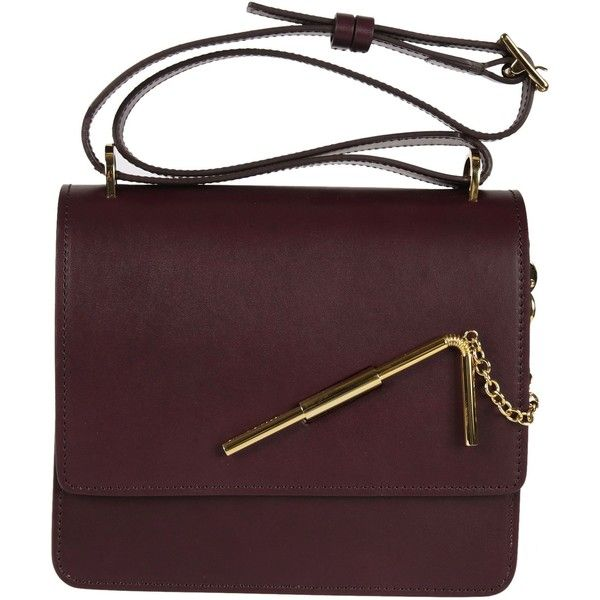 Straw Detail Shoulder Bag (7,640 EGP) ❤ liked on Polyvore featuring bags, handbags, shoulder bags, red, straw handbags, straw shoulder handbags, sophie hulme, shoulder handbags and straw shoulder bag