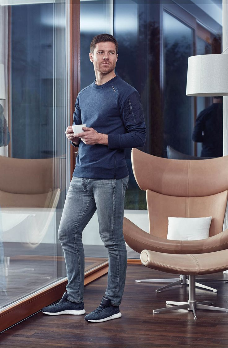 excellent xabi alonso fashion style pics