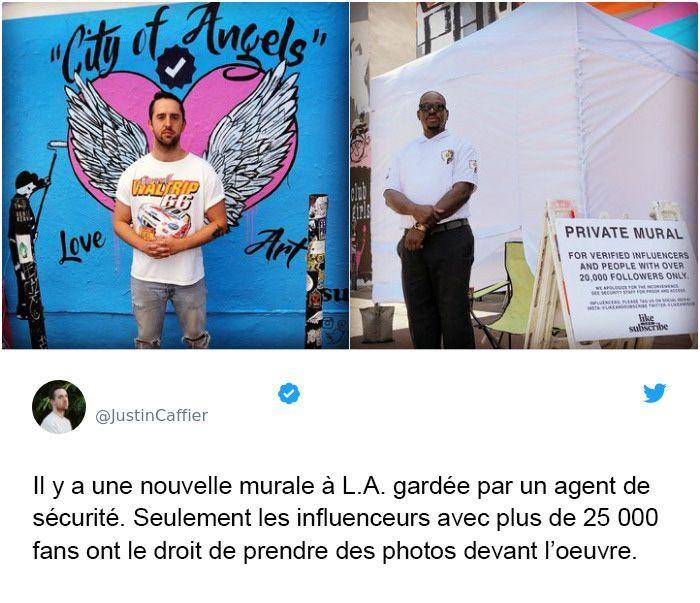 20 Photos Demontrant A Quel Point Nous Vivons Dans Une Societe Dystopique Cyclope Photos Agent De Securite Le Monde