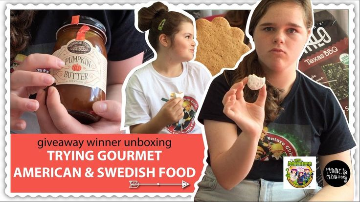 kids trying new foods | giveaway winner unboxing P2 (EP107) - YouTube  Trying American and Swedish food #tastetest #food #foodie #gourmet #america #sweden