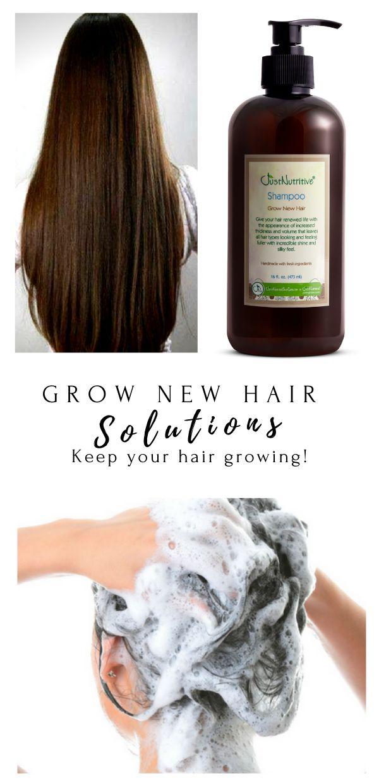 Just Nutritive's Grow New Hair Shampoo
