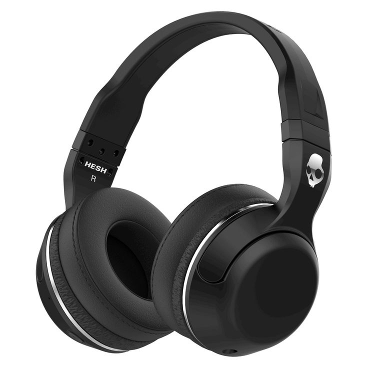 Skullcandy Hesh Bluetooth Over-the-Ear Headphone with Mic, Black