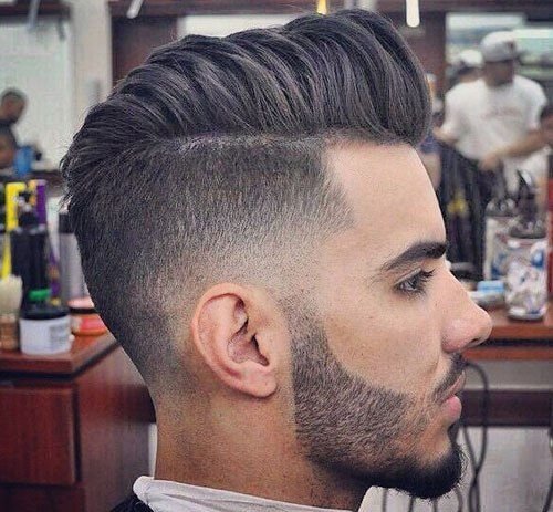 High Fade Pompadour Hairstyles