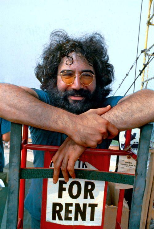 Jerry Garcia ~ Grateful Dead ~ Woodstock 1969