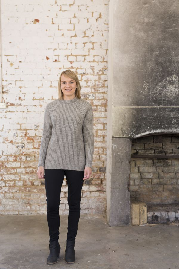 A great everyday style  the Untouched World Verve Chunky Crew is classic jumper that you will love to wear this winter. Available in Stone.