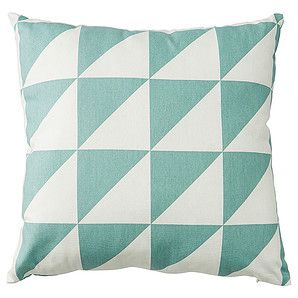 Triangle Print Cushion 43 x 43cm - Blue – Target Australia