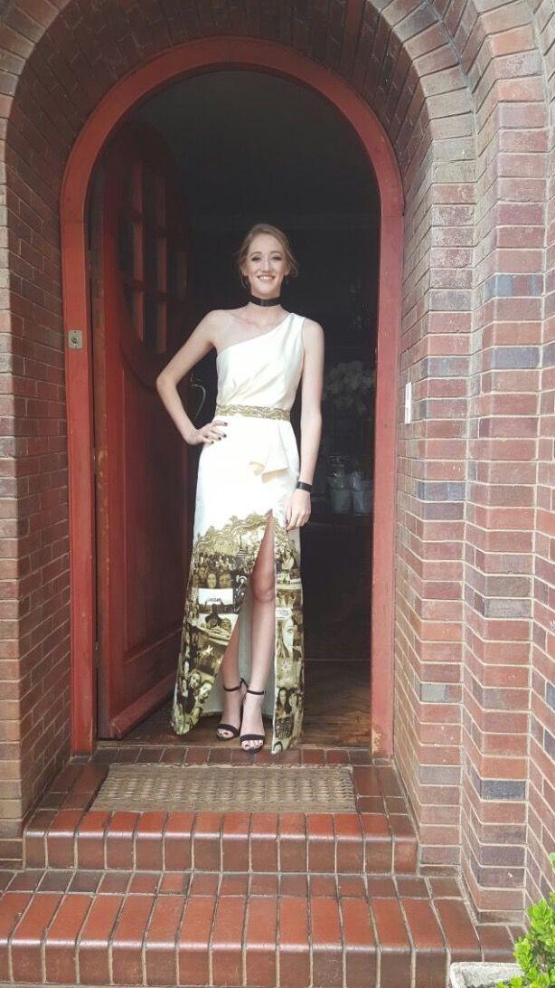 Matric farewell dress by Elswear 2016