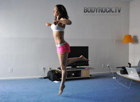600 Rep Fat Burner Workout | Bodyrock.tv