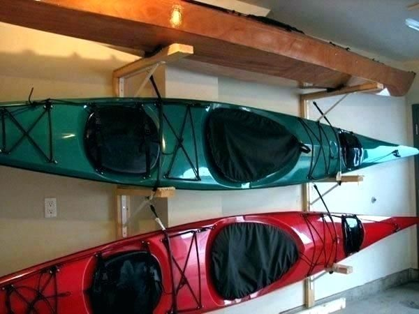 Luxury Diy Kayak Rack Garage Tutorial Kayak Storage Rack Kayak Storage Kayak Rack