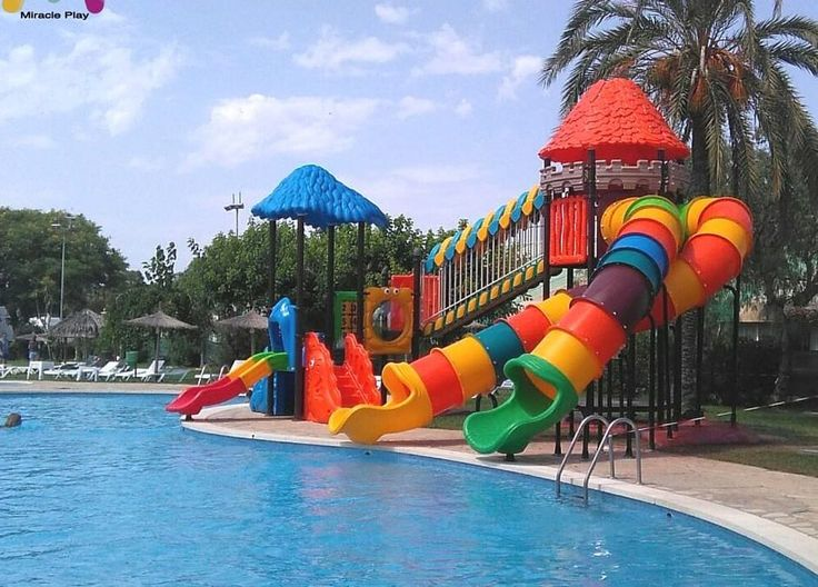 Toboganes de agua #swimmingpools #outdoorpools #children'spools #Waterslides #Holidays #Summer