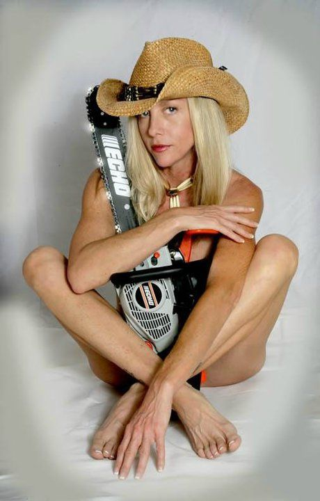 cherie currie chainsaw artist