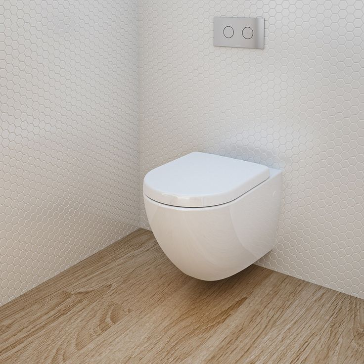 caroma urbane wall hung toilet suite - Wall Hung Toilet