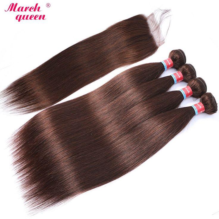 marchqueen Pre-Colored Vietnamese Straight Hair Bu…