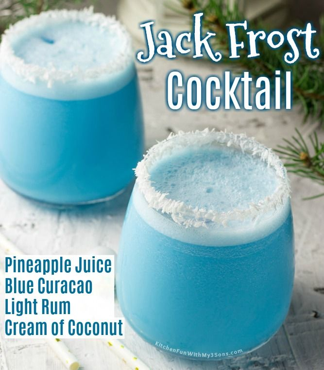 This Jack Frost Cocktail Is Perfect For Winter And So Easy To Make