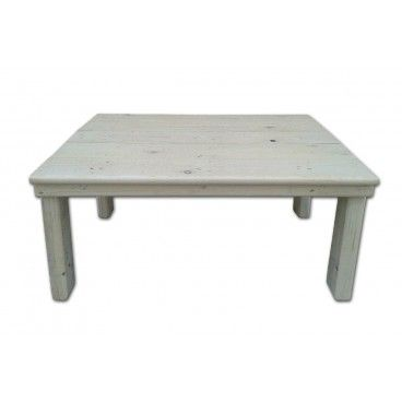 Mesa para jard n o terraza hecha con madera reciclada procedente de palets u otros embalajes - Mesas de pale ...