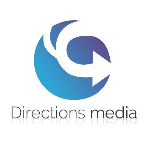 Directions media #logo #design | #brandrocket