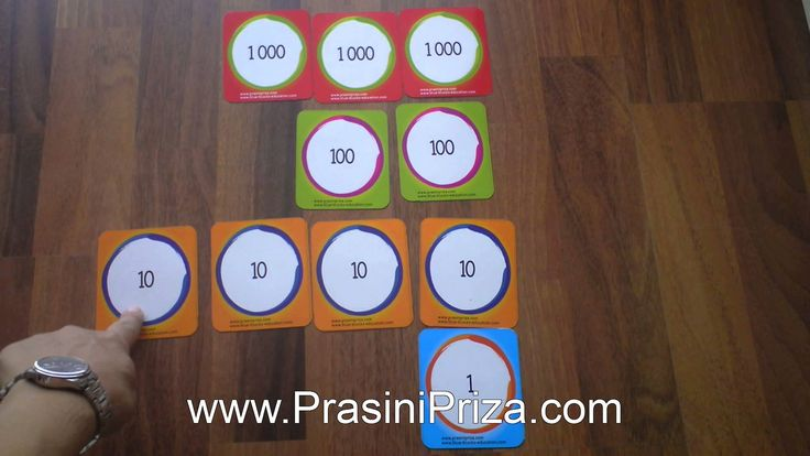 Πρόσθεση και Αφαίρεση με την Πράσινη Πρίζα - Παιχνίδια με καρτέλες