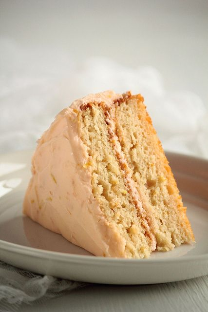 Grapefruit Cake with Grapefruit Buttercream