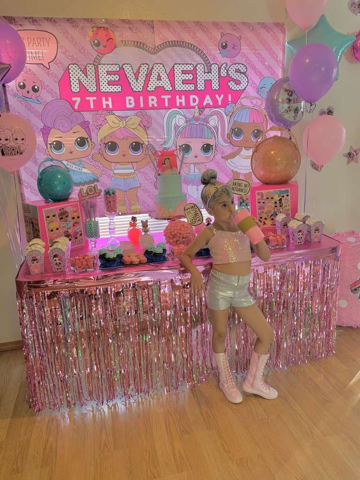 LOL Surprise Dolls Birthday Party Ideas | Photo 9 of 40 | Catch My Party