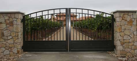 Interesting Metal Gate Gates Driveway Automation Chris With Inspiration