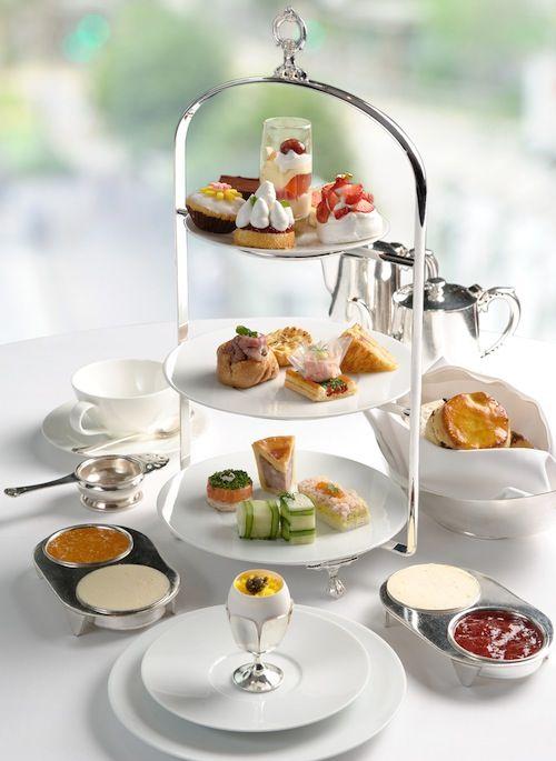 A Royal Afternoon Tea Set - The Clipper Lounge, #MandarinOriental, #HongKong, article by SassyHongKong