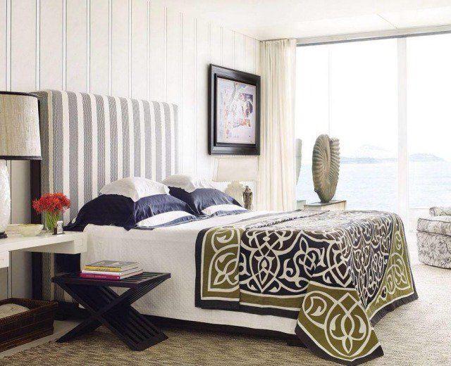 idées de textures et motifs dans la chambre à coucher adulte