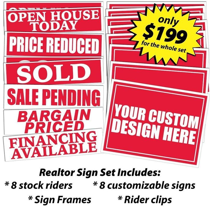 Best 25+ Realtor signs ideas on Pinterest Open house signs, Real - house for sale sign template