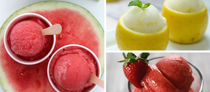 Die ultimative Erfrischung! Fruchtiges Sorbet-Rezept mit Erdbeere & Co