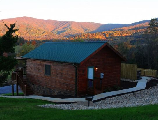 1 Bedroom Cabin Rental In Luray, Virginia, USA   7 Romantic Log Cabins On