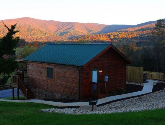 1 Bedroom Cabin Rental In Luray, Virginia, USA   7 Romantic Log Cabins On