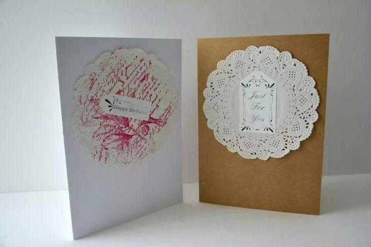 Print or plain birthday cards