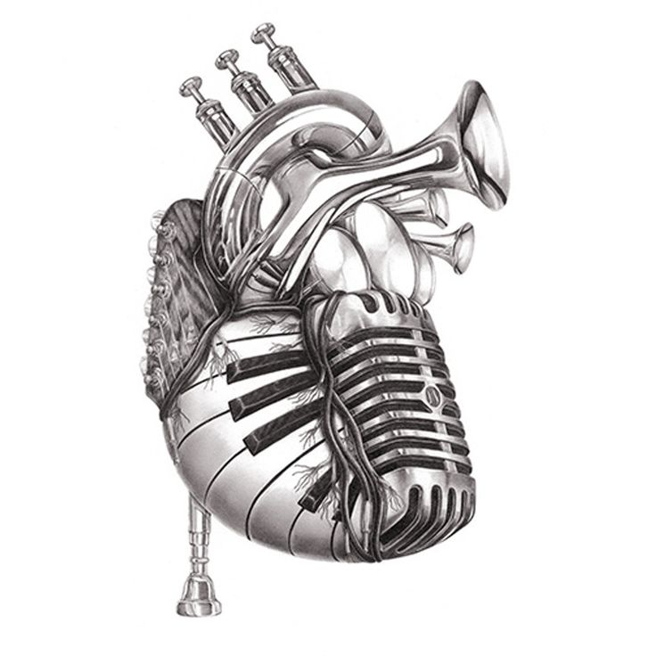 Heart of Music from Jake Weidmann Artist and Master Penman