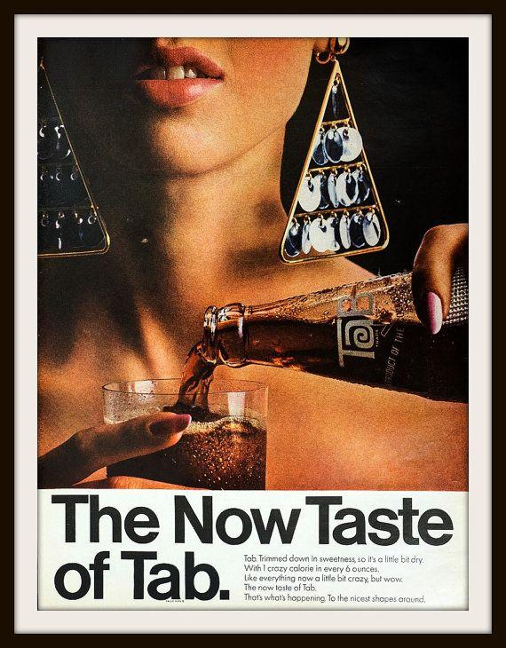 1966 Tab Beverage Advertisement. Vintage beverage ad. Vintage Tab ad. Vintage Coca-Cola ad. Vintage Cola ad.