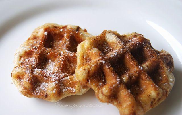 Rolos de Canela e Versão Waffles