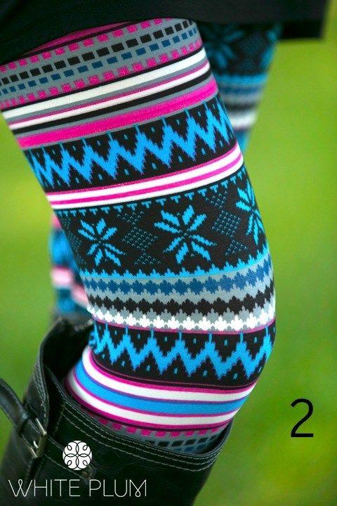 White Plum's Print Leggings! 33 Styles Available!