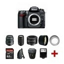 New Nikon D7000 SLR With 5 Lens Kit: 18-55mm, 70-300mm, 50mm + 8GB