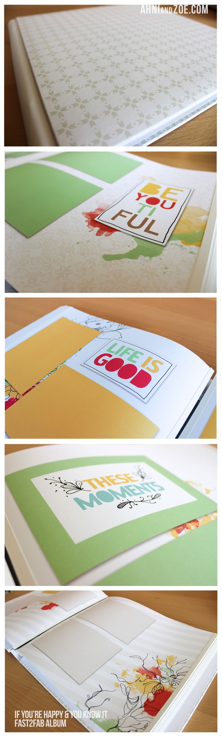 How to refill scrapbook pages - If You Re Happy You Know It Fast2fab Album And Refill Pages