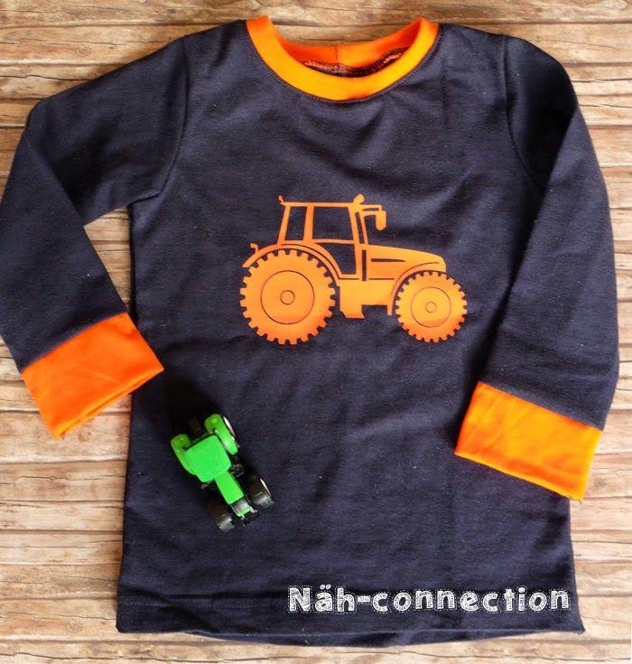 Tractor plotter freebie/printable/freezer stencil / Traktor Freebie für Plotter & Co. - Näh-connection