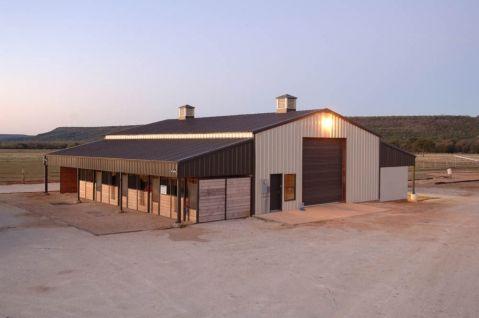 Best Walls Light Stone Roof Trim Burnished Slate Roll Up Door Burnished Slate Workshop Barn 640 x 480