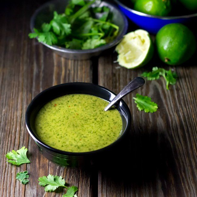 Lime Cilantro Dressing | #vegan #cleaneating #glutenfree | an awesome choice for summer salads