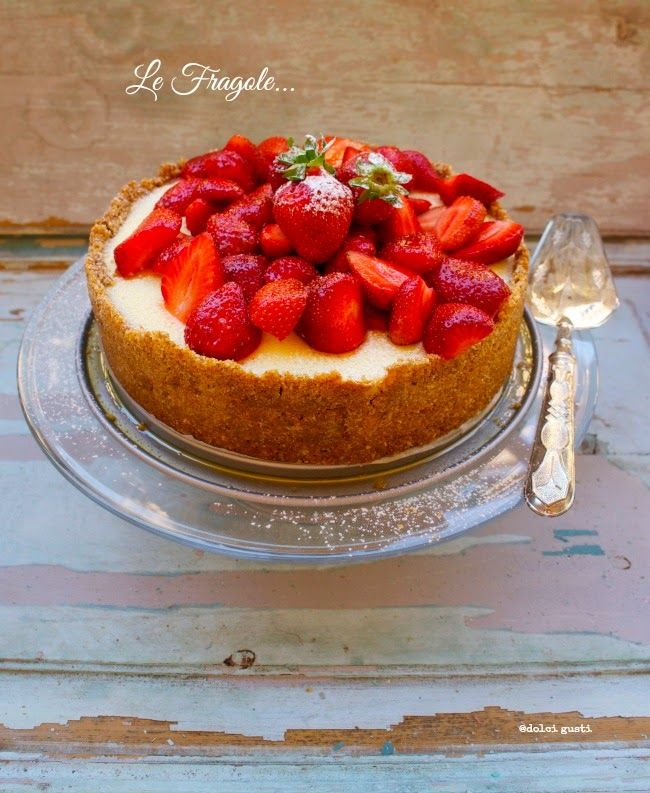 Dolci Gusti: cheese cake alle fragole
