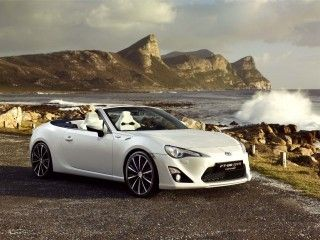 Toyota FT 86 Open Concept 2013 Will Be Unveiled At The Geneva Auto Show.  The Concept Is Based Of Its Highly Acclaimed Sports Coupe.