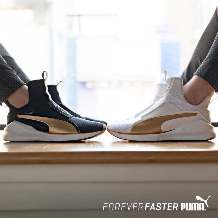 When training and style align | PUMA Fierce Gold