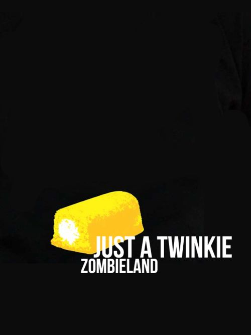 Minimal Movie Posters - Zombieland (Just A Twinkie) byAyesha