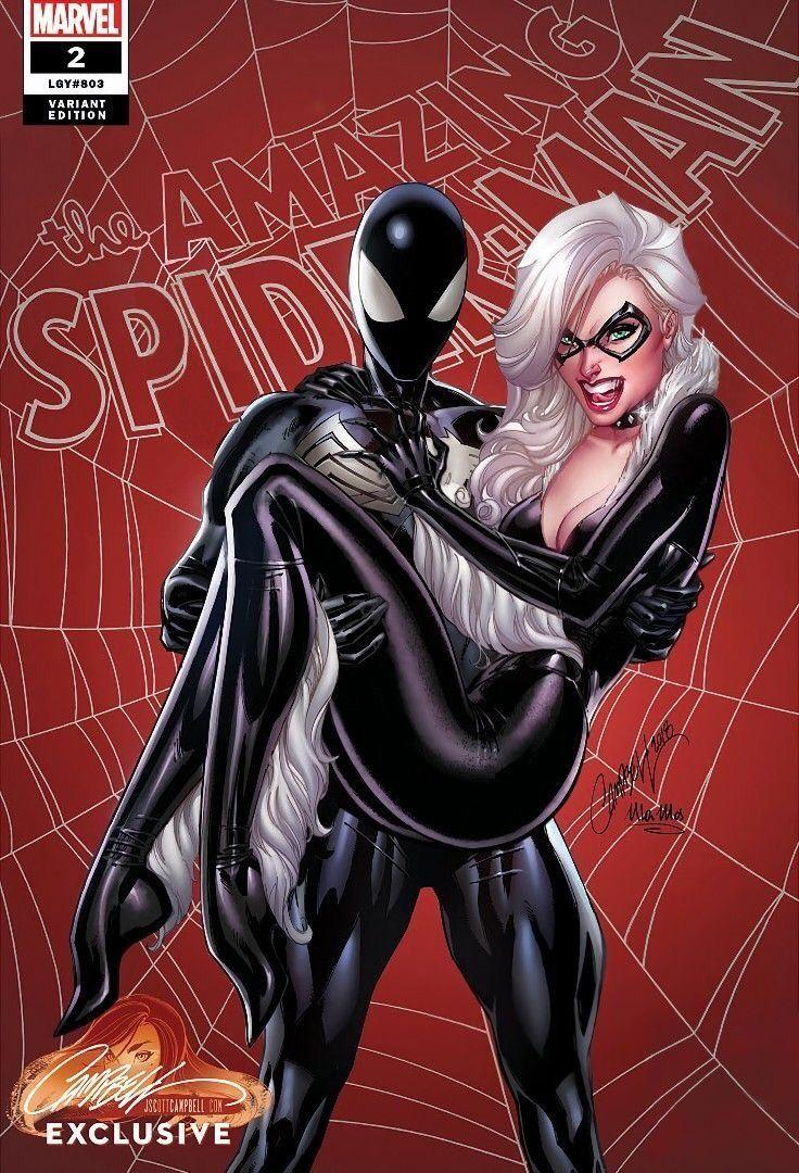 black cat spiderman - 736×1080