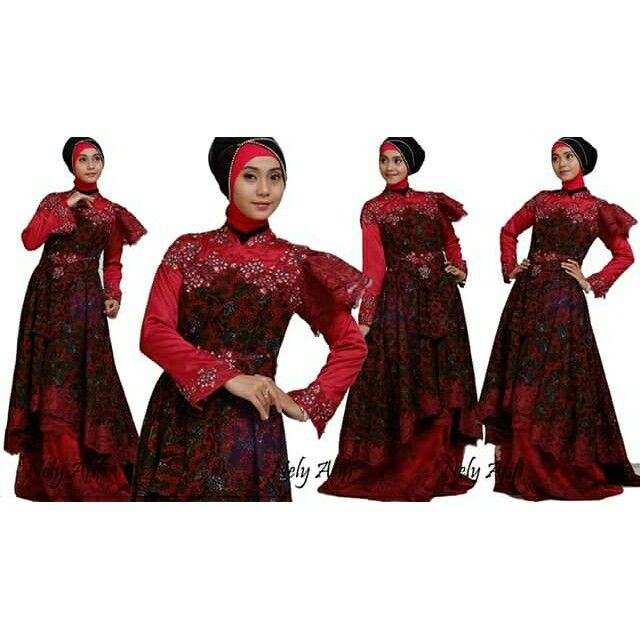 Kebaya Modern, gown for muslimah, wedding dress muslimah, made by order