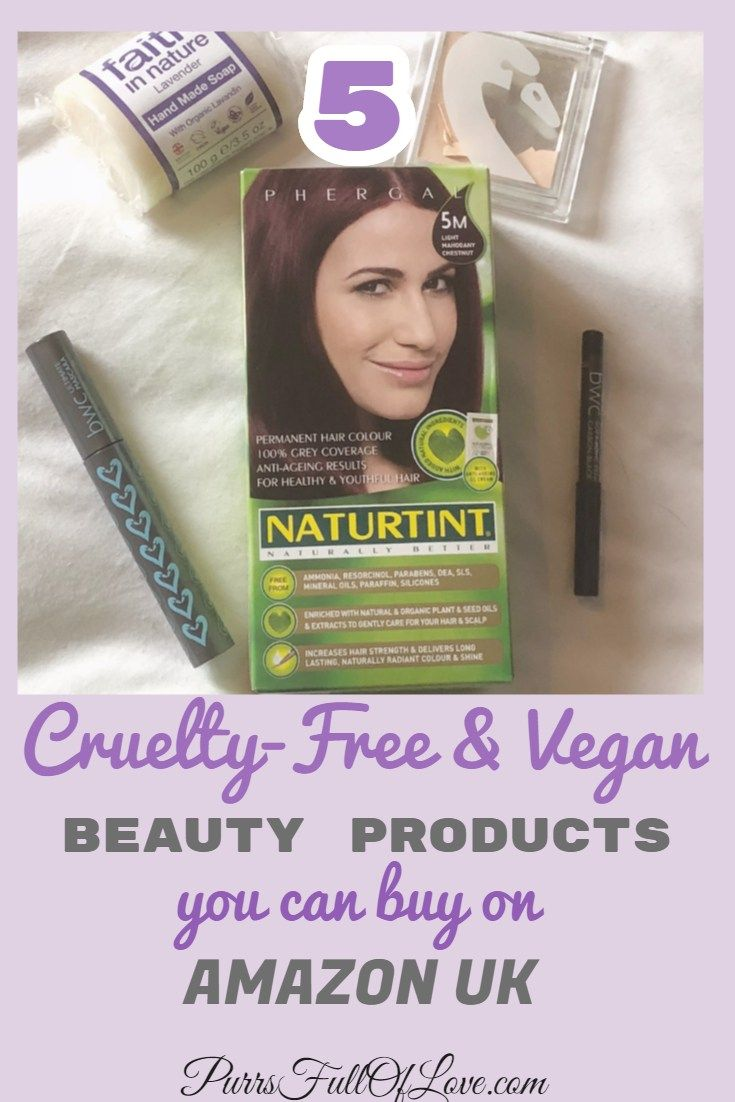 5 Cruelty Free Vegan Beauty Products You Can Buy From Amazon Uk Vegan Beauty Cruelty Free Vegan