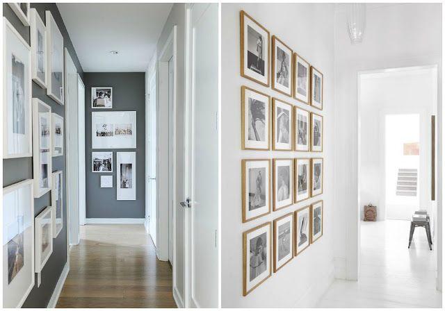 Cómo decorar un pasillo estrecho | Decoración. Halls.