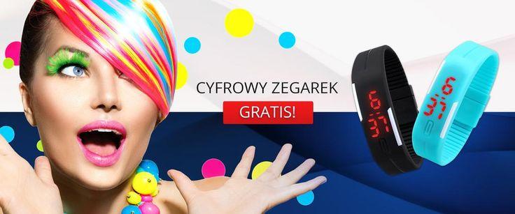 A teraz dla naszych Klientów mamy taki upominek :) UWAGA!!! Tylko do wyczerpania zapasów: http://www.brawat.pl/zegarek-za-darmo…