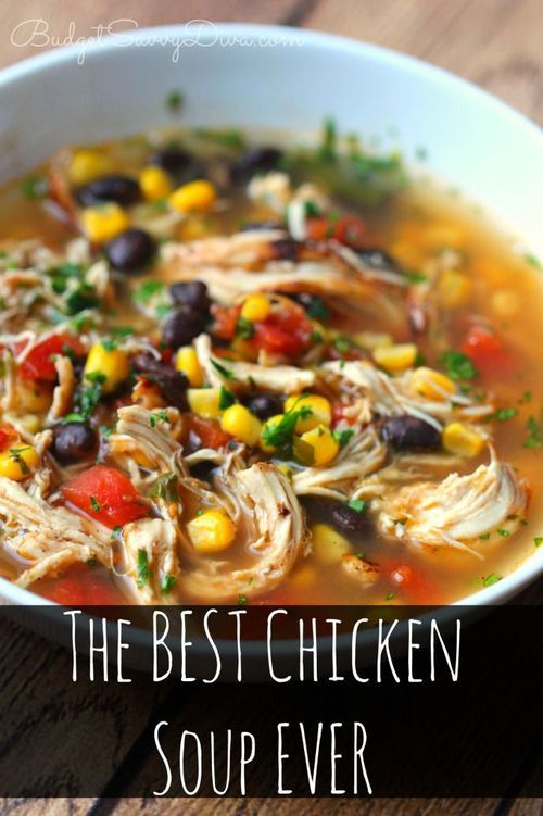 It tastes like it from a RESTAURANT! One of the EASIEST recipes EVER!!! Gluten and Dairy FREE -The BEST Chicken Soup Ever Recipe - Recipe includes How To Make in Crock Pot. more here